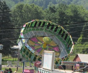 The round up ride at the Afton Fair